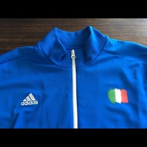 Adidas 2014 Italy 4 Stelle World Cup Track Jacket